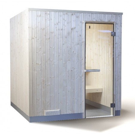 Sauna EVOLVE 1212 Spruce (Pack)